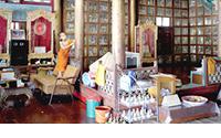 Wat Jong Klong original reverse glass paintings