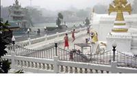 Wat Jong Klong - Burmese Reverse Glass Paintings at Wat Chong Klan, Lan Na (Thailand)