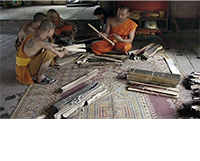 Lao Ramayana murals replicant eBook assemblage for IGNCA, Delhi